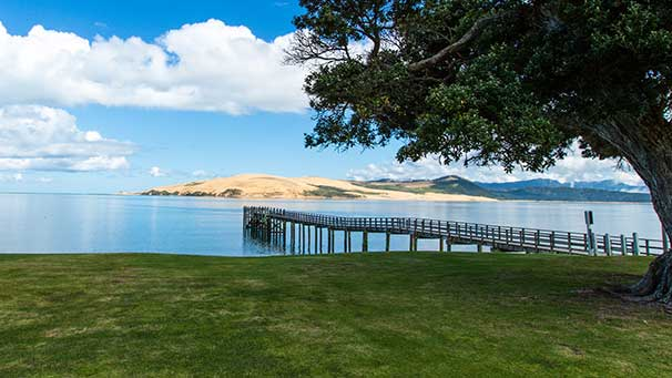 View from the Copthorne Hokianga